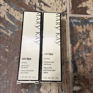 Mary Kay Satin lips mask and balm